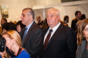 Посол Грузии Михеил Уклеба и Посол Белорусии Величко Валентин